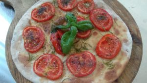 Focaccia with Tomato and Poppy Seeds