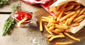 Reheat the French Fries