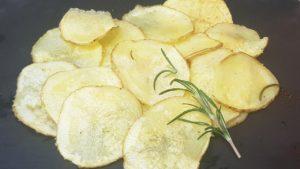 Prepare the Microwave Potato Chips