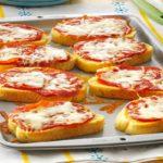 Preparazione Dei Crostini Pizza